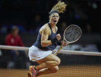 Siegemund erreicht erneut Halbfinale von Stuttgart