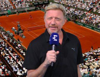 Vorfreude auf die French Open – dank Boris Becker