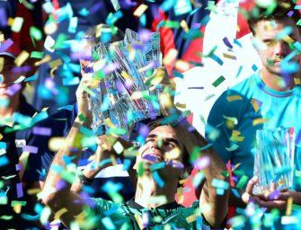 Dank Miami-Triumph: Federer verbessert sich auf Platz vier