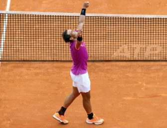 Monte Carlo: Nadal feiert historischen 10. Sieg