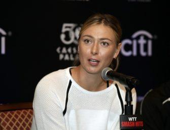 French Open: Entscheidung über Sharapova-Wildcard am 15. Mai