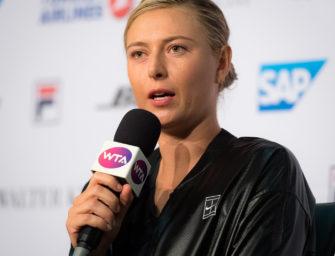 """Sharapova hofft auf Start in Paris: """"Ich würde jede Möglichkeit nutzen"""""""