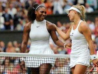 """Kerber über Williams: """"Serena wird eine Weltklasse-Mama sein"""""""