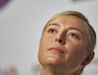 """Unangemessene Frage"": Sharapova reagiert gereizt auf Doping-Thema"