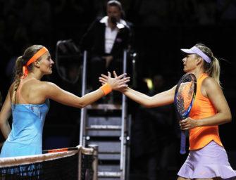 Stuttgart: Sharapova verliert – Mladenovic im Endspiel