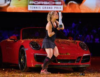 """Als """"Laura Croft"""": Siegemund gewinnt Finale von Stuttgart"""