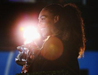 Serena Williams ist schwanger und plant Comeback 2018
