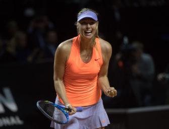 Maria Sharapova: Sie ist wieder da!