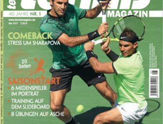 tennis MAGAZIN 5/2017 – Die Federer-Nadal-Renaissance