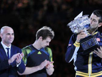 Agassi wird neuer Super-Coach von Djokovic