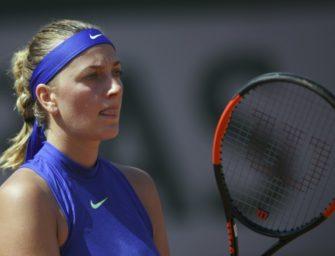 Paris: Kvitova scheitert in Runde zwei