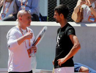 """Hofsäß lobt Djokovic-Coach: """"Agassi ist der perfekte Trainer"""""""