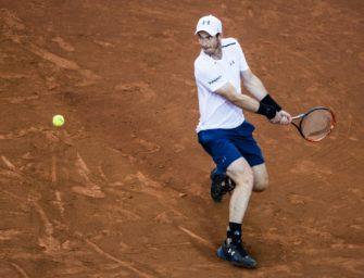 Murray nach Viersatz-Erfolg in zweiter Runde