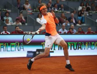 Madrid: Alexander Zverev in Runde zwei – Trio scheitert