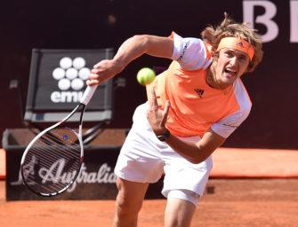 Rom-Finale: Stürmt Zverev heute schon in die Top 10?