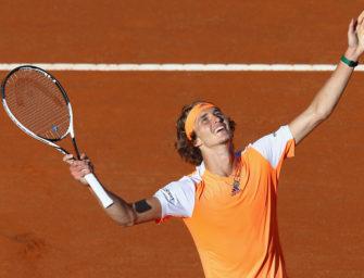 Als erster Deutscher seit 2008: Alex Zverev im ATP-Masters-Finale
