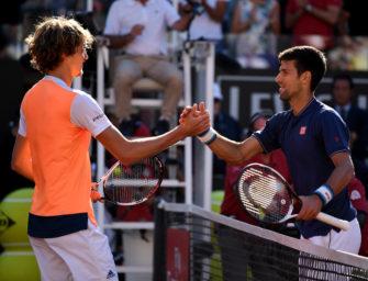 Video-Rückblick: So gewann Alexander Zverev in Rom