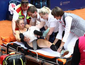 Nürnberg: Siegemund mit Knieverletzung ausgeschieden