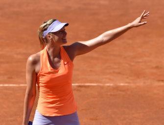 Maria Sharapova ist sicher in der Qualifikation von Wimbledon