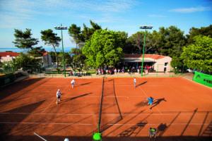 Zischka Tennis Camp Losinj travel - Zischka Tennis Camp - - Punta Vitality Hotel - Losinj - Kvarner - Croatia - 9 May 2016. © Juergen Hasenkopf
