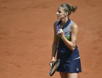 Noch ein Sieg bis zur Nummer eins: Pliskova im Paris-Halbfinale