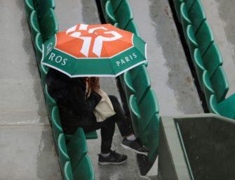 French Open: Regen unterbricht Spielbetrieb – Dach kommt 2020