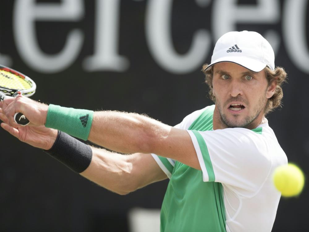 Zverev in Eastbourne: Mischa Zverev (Hamburg) ist bei seiner Wimbledon-Generalprobe im britischen Eastbourne im Achtelfinale ausgeschieden.