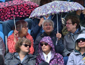 Eastbourne: Regen hält Kerber und Zverev auf