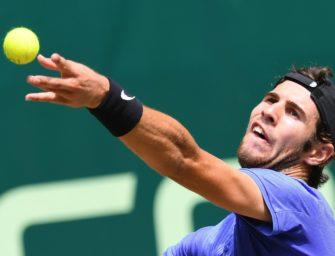 Chatschanow im Halbfinale von Halle gegen Mayer oder Federer