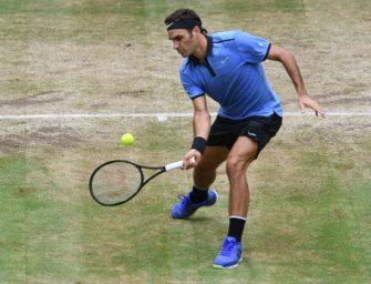 """Federer im Stern: """"Mein Ziel ist Wimbledon"""""""
