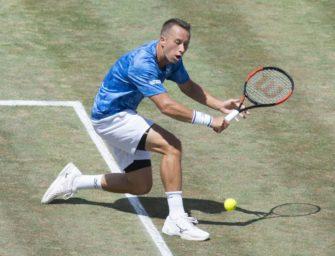 Tennis: Kohlschreiber scheitert im Viertelfinale von Stuttgart