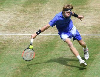 Gasquet und Chatschanow im Halbfinale von Halle