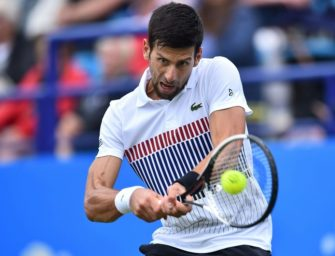 Djokovic im Finale von Eastbourne