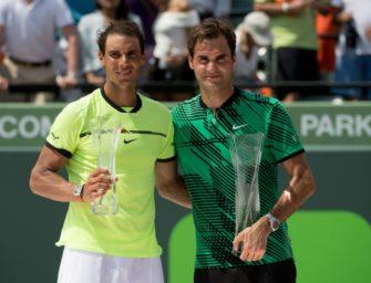 Tennis: Federer voll des Lobes für Nadal