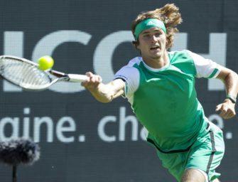 Alexander Zverev scheitert im Halbfinale von 's-Hertogenbosch