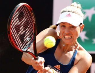 Kerber gewinnt Showmatch vor Gerry Weber Open