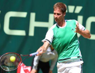 Halle: Titelverteidiger Mayer im Viertelfinale