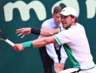 Mischa Zverev verliert in Halle gegen Rekordsieger Federer