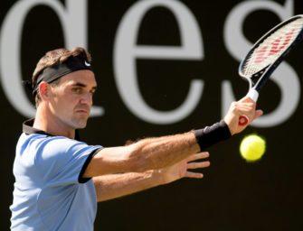 Roger Federer startet in Halle gegen Taiwanesen Lu