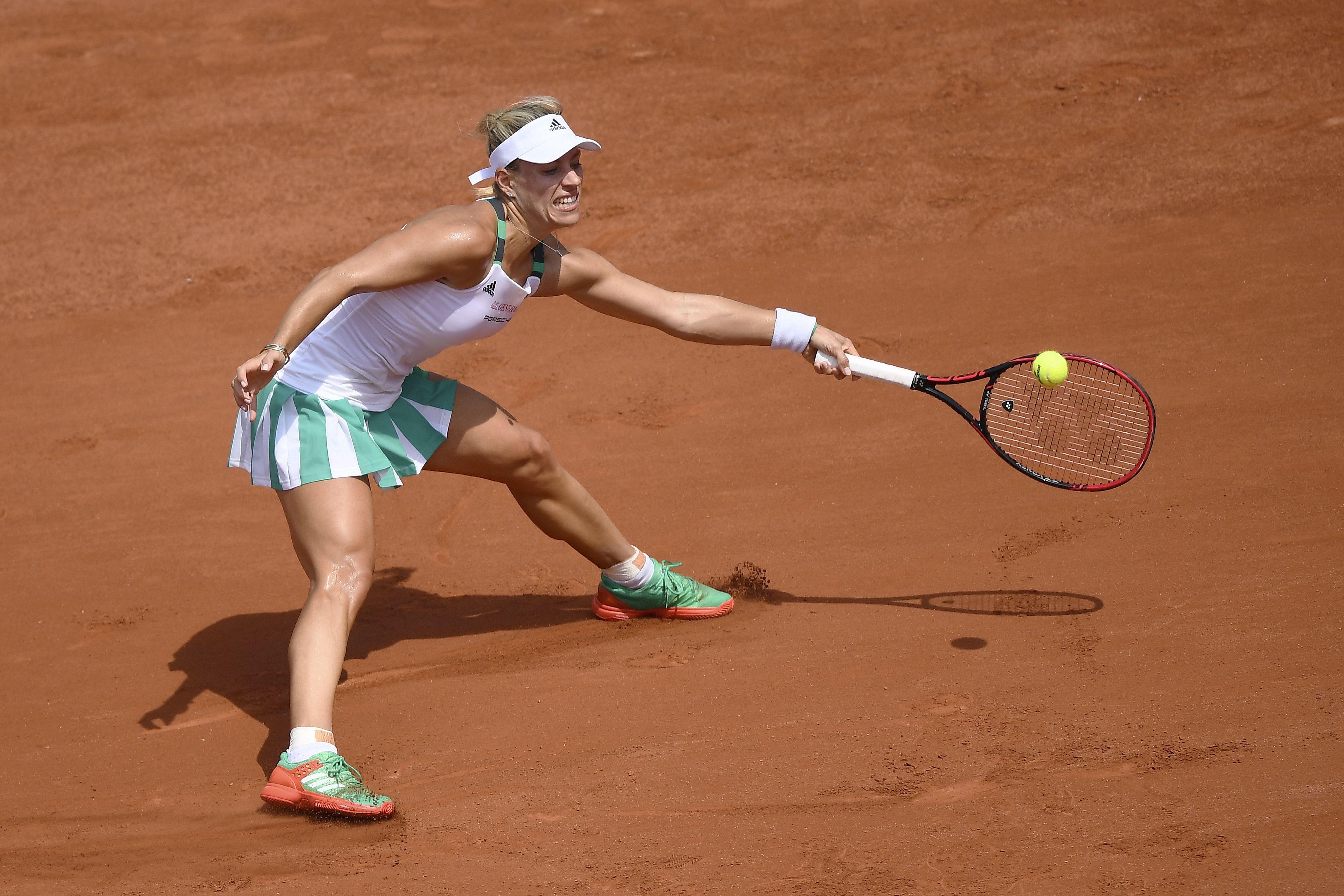 Alles andere als optimal: Bei den French Open schied Angelique Kerber bereits in der ersten Runde gegen die Russin Ekaterina Makarova aus.