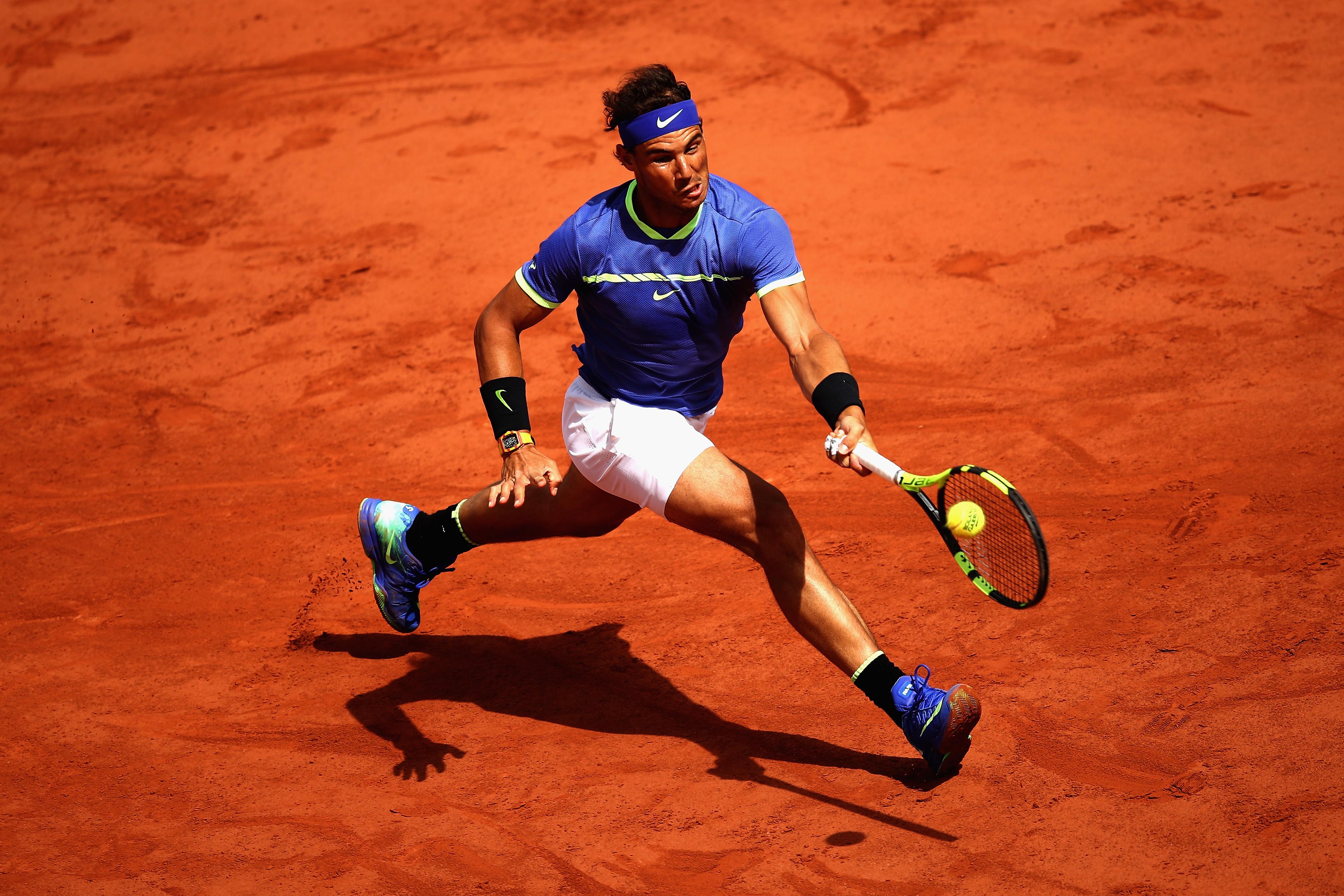 Kurzes Vergnügen: Rafael Nadal bestritt bei den diesjährigen French Open noch kein Match über zwei Stunden.