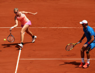 French Open: Grönefeld verpasst Mixed-Titel