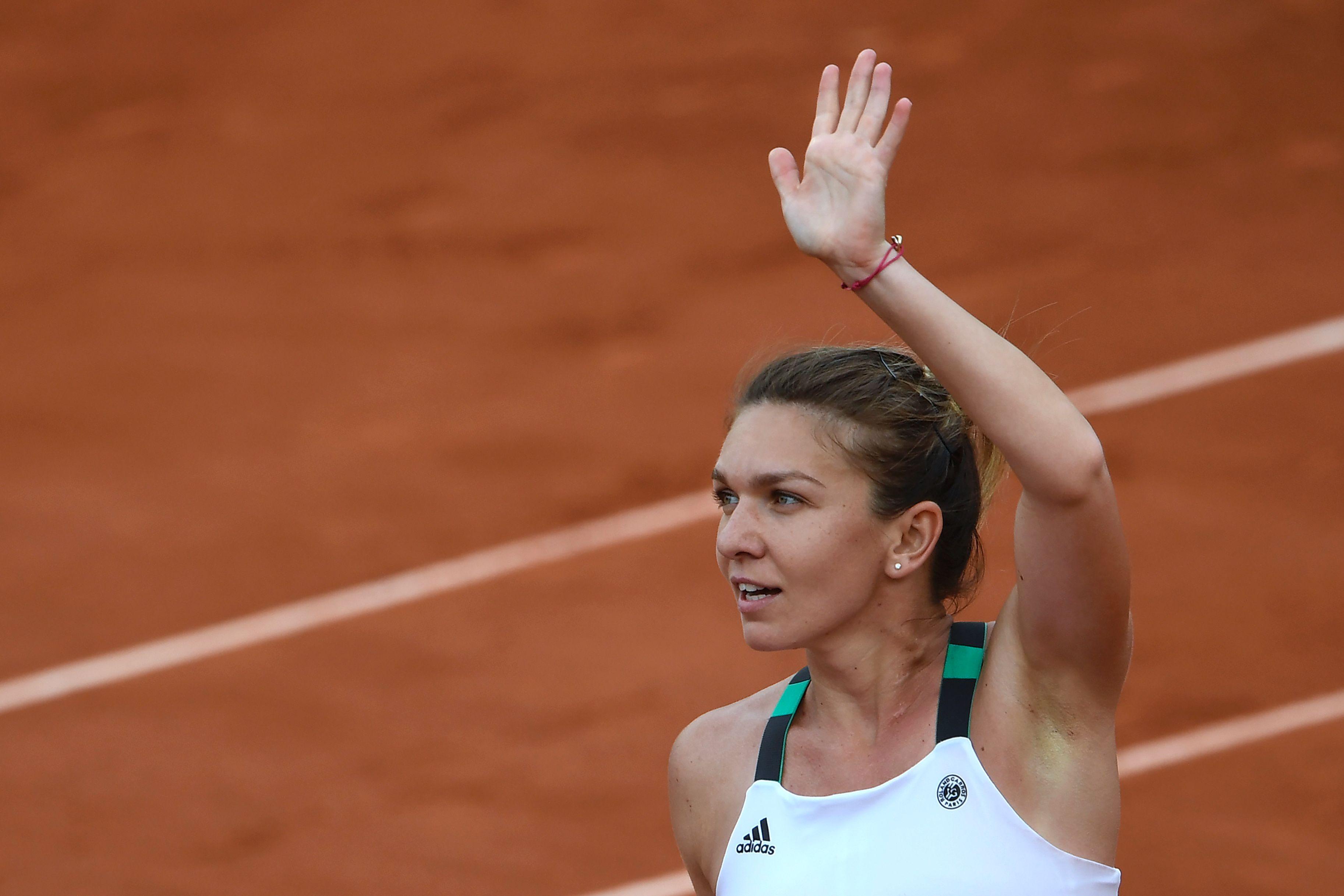 Simona Halep zieht in ihr zweites French Open -Finale ein. 2004 unterlag sie Maria Sharapova im Stade Roland Garros