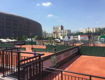 Post aus Paris: Das idyllische Trainingsgelände Jean Bouin