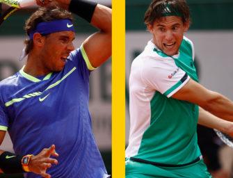 Match des Tages: Thiem gegen Nadal