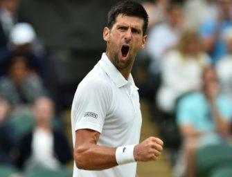 Wimbledon: Djokovic ohne Satzverlust im Viertelfinale