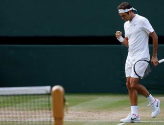 Federer im Wimbledonfinale gegen Cilic