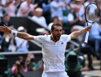 Marin Cilic zum ersten Mal im Wimbledonfinale