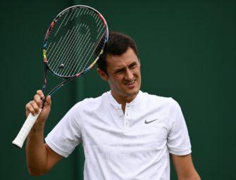 Tomic spürt keine Liebe für den Sport