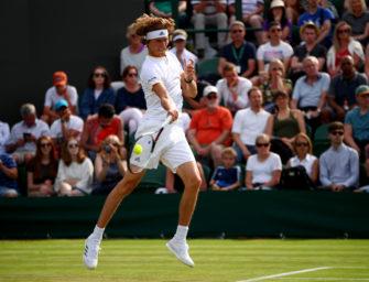 Podcast aus Wimbledon, Tag 2: Die Zverevs im Gleichschritt